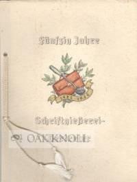 ANSPRACHE AN HERRN FRANZ LAVER MORITZ ANLÄßLICH DER FEIER SEINES FÜNFZIGJÄHRIGEN JUBILÄUMS A, 1. APRIL 1935