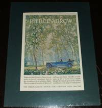 image of 1920 Full Page Color Automotive Ad for Pierce-Arrow , Matted Ready to Frame