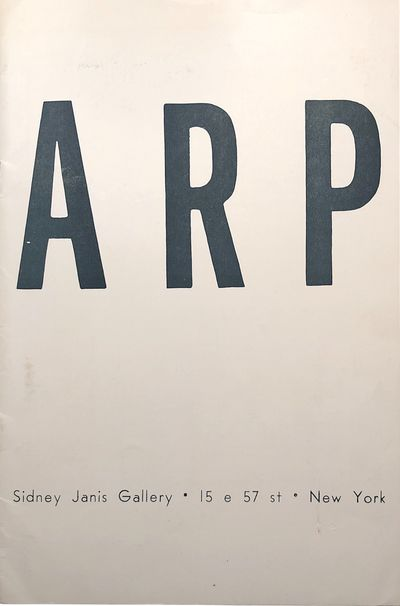 Small Quarto (9 1/4 x 6 1/8 inches; 236 x 156 mm), pages in stapled wrappers. Exhibition catalogue f...