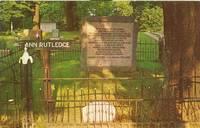 THE GRAVE OF ANN RUTLEDGE, PETERSBURG ILLINOIS 1960s unused Postcard