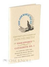 San Diego: Ash Ranch Press, 1987. stiff paper wrappers. Miniature Books. miniature book (5.5 x 8.1 c...