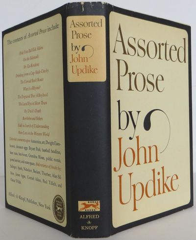Knopf, 1965. 1st Edition. Hardcover. Fine/Fine. A fine first edition in a fine dust jacket, signed b...