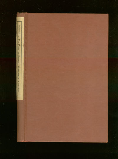 New York: Columbia University, 1940. Hardcover. Near Fine. First edition. Near fine lacking the dust...