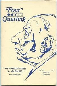 Four Quarters: Vol. XX, No. 3, March, 1971