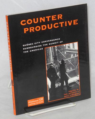 Montréal: Cumulus Press, 2002. 131p., wraps, CD in plastic sleeve at back.