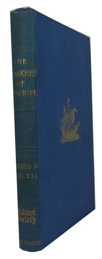 London: Hakluyt Society, 1907. Hardcover. Very Good. frontis, folding map, index, xvi, 221p. 22cm. E...