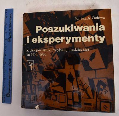 Warsaw: Wydawnictwa Artystyczne i Filmowe (Artistic and Film Publishers), 1982. Hardcover. VG-/Good+...