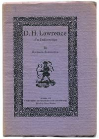 D. H. LAWRENCE: An Indiscretion