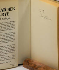 THE CATCHER IN THE RYE; [Inscribed using his childhood nickname] by  J. D Salinger - Signed First Edition - 1951 - from Quill & Brush (SKU: 55781)