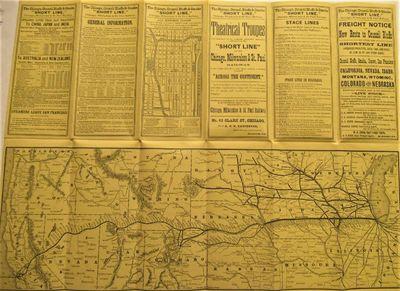UNRECORDED 1883 RAILROAD MAP