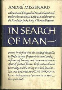 IN SEARCH OF MAN, Missenard, Andre