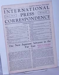 image of International press correspondence; English edition, vol. 14, no. 24, 29 Apr 1934