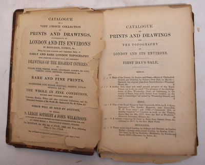 London: Davy, 1853. Hardcover. Good- (pages prior to title page and end pages are brittle and loose,...