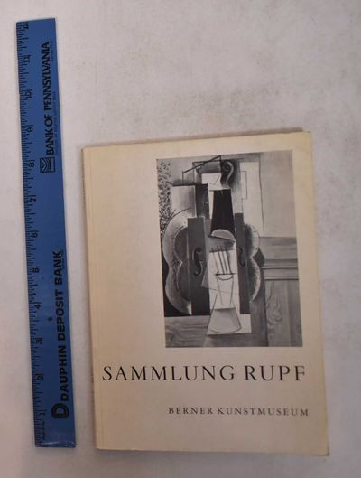 Bern: Berner Kunstmuseum, 1956. Softcover. VG-. May be ex-library with label at bottom of spine, pen...