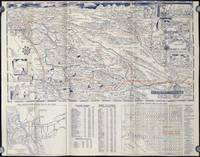 San Diego California.  Street guide and automobile Road Map of San Diego City, County - and Southern California.