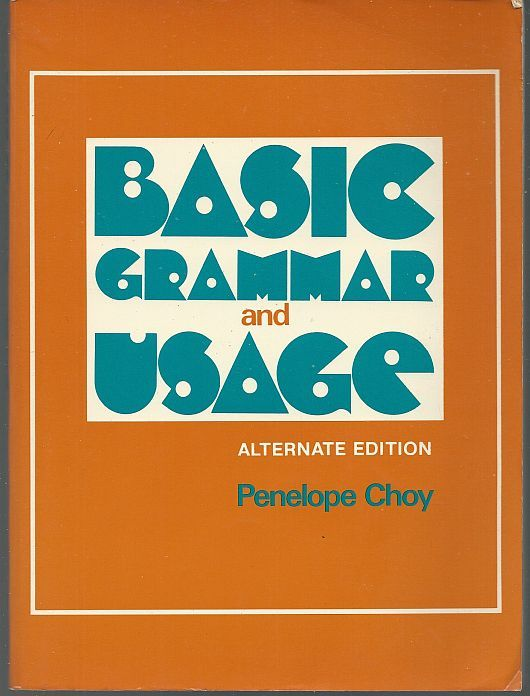 Image for BASIC GRAMMAR AND USAGE Alternate Edition