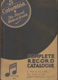 Complete Record Catalogue (1932)