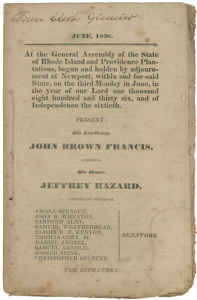 [Signed Rhode Island Acts] June,...