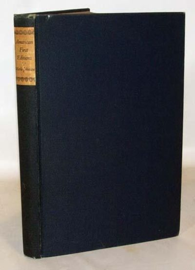 New York: R. R. Bowker Co., 1929. First limited edition. Very good+ in dark blue cloth covered board...