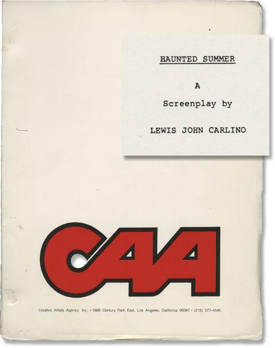 N.p.: N.p., 1985. Second Draft script for the 1988 film. Based on Anne Edwards' 1972 novel, recreati...