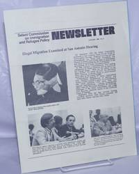 image of Select Commission on Immigration_Refugee Policy Newsletter: #3, January 1980: Illegal migration examined at San Antonio hearing