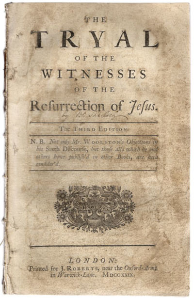 London: J. Roberts, 1729. 8vo. 110 pp. Extremely popular in its time and the author's most successfu...