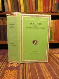 The Nicomachean Ethics.  (Aristotle in Twenty-Three Volumes: XIX)
