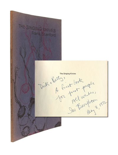 Seattle, WA: Mill Mountain Press, 1971. First edition. Near Fine. Slim octavo in violet wrappers, wi...