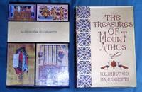 The treasures of Mount Athos : illuminated manuscripts, miniatures-headpieces-initial Letters [ Volume 1: The Protaton and the monasteries of Dionysiou, Koutloumousiou, Xeropotamou, and Gregoriou ]