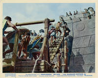 The Warrior Empress (Two original British front-of-house cards from the 1960 film)