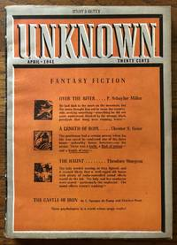 UNKNOWN FANTASY FICTION. April, 1941 Campbell, Jr., John W. (Editor)