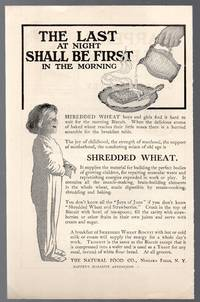 image of Original 1907 Shredded Wheat Illustrated Advertisement