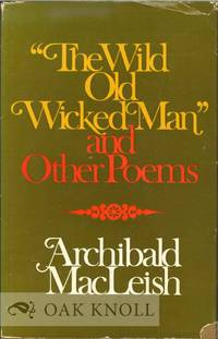 image of WILD OLD WICKED MAN & OTHER POEMS.|THE