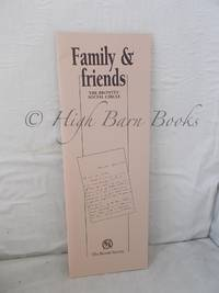 Family and Friends: The Brontes' Social Circle
