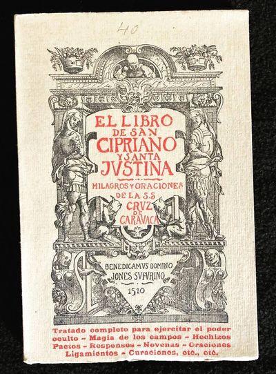 El Libro de S.(an) Cipriano y Santa...