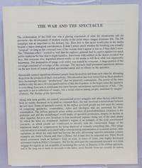 image of The war and the spectacle