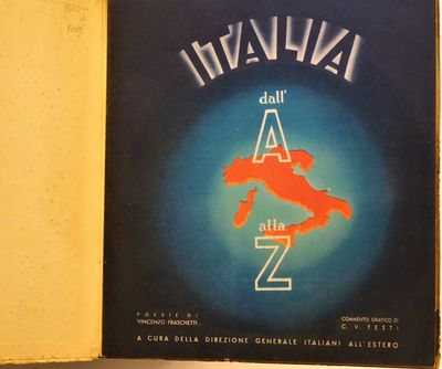 Novara, Italy : Officine Dell'istituto Geografico De Agostini,, 1936. RARE. First and only edition o...
