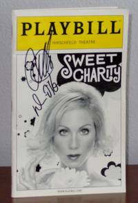 Sweet Charity Playbill Signed by Christina Applegate and Denis O'Hare