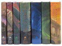 image of Harry Potter and the Sorcerer's Stone; and the Chamber of Secrets; and the Prisoner of Azkaban; and the Goblet of Fire; and the Order of the Phoenix; and the Half-Blood Prince; and the Deathly Hallows