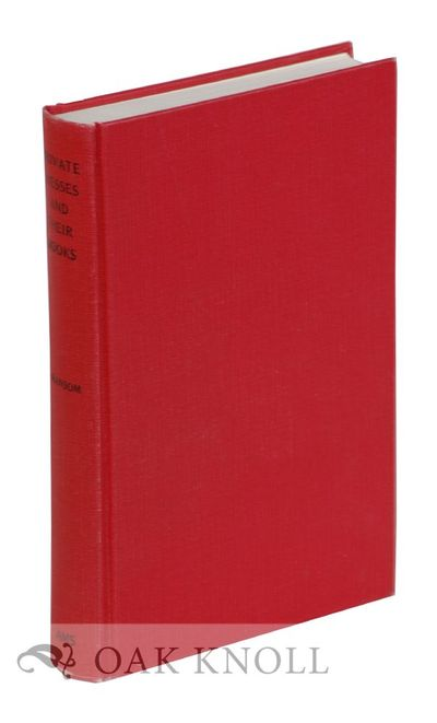 New York: AMS Press, 1976. cloth. 8vo. cloth. 493 pages. Reprint of the 1929 first edition of this s...