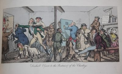 London: William Sams, 1822. First edition. Half Morocco. Very Good. 4to. 35 by 25 cm. 23 hand-colore...