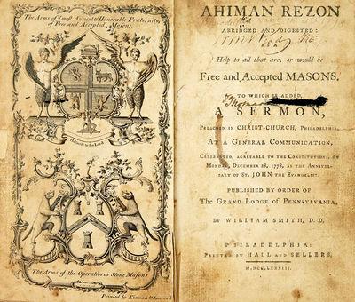 Masonic Constitution Dedicated to...