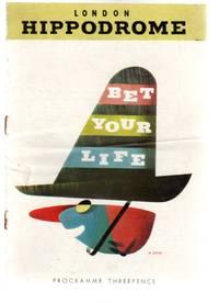 Bet Your Life - Theatre Programme - London Hippodrome
