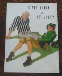 image of Santa Clara Vs. St. Mary's Program Sunday October 22, 1939