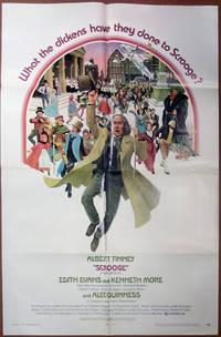 """Scrooge"" - Original Folded One Sheet Movie Poster (1971)"