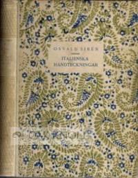 Stockholm: Bröderna Lagerströms Förlag, 1917. gilt-stamped quarter vellum with decorated paper-co...