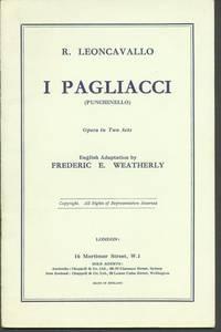 image of I PAGLIACCI (PUNCHINELLO)