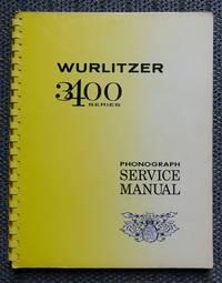 image of WURLITZER 3400 PHONOGRAPH SERVICE MANUAL  (STATEMAN SERIES.)