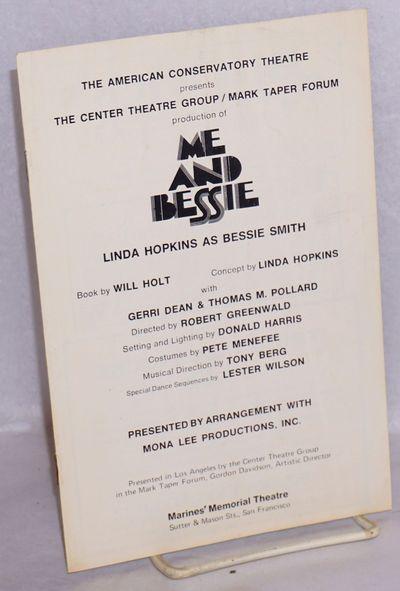 San Francisco: American Conservatory Theatre, 1975. 8p, 5.5x8.5 inches, theater program, staple-boun...