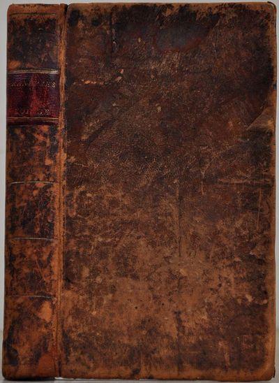 Boston: Printed by David Carlisle, for W. Pelham, and W. P. & L. Blake, 1803. Book. Very good condit...
